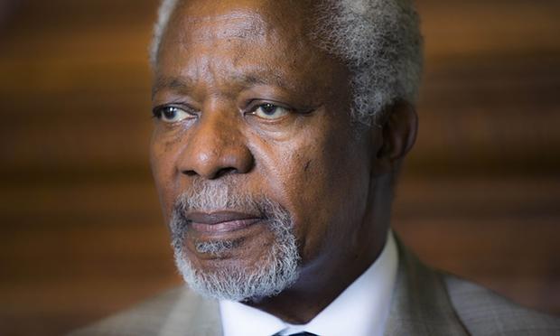 WATCH LIVE: Body of late Former U.N Sec. General arrives