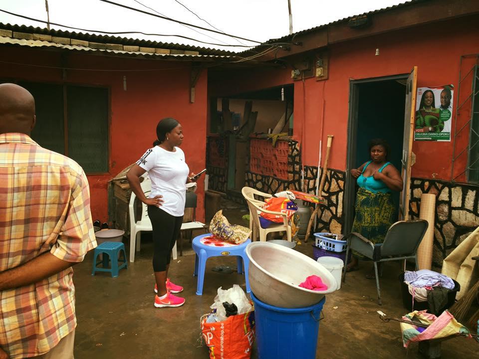 NDC's Obuobia Darko-Opoku, others clean choked Mallam gutters