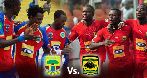 MTN FA Cup: Hearts to face Kotoko in grand finale