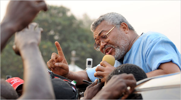 NDC race: I haven't endorsed any candidate – Rawlings
