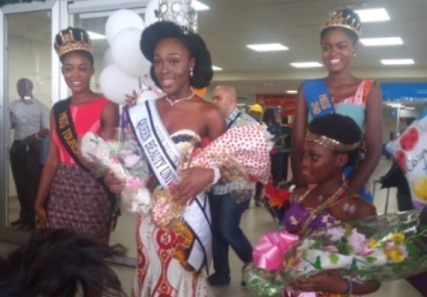 US-based Ghanaian student crowned beauty queen in Spain