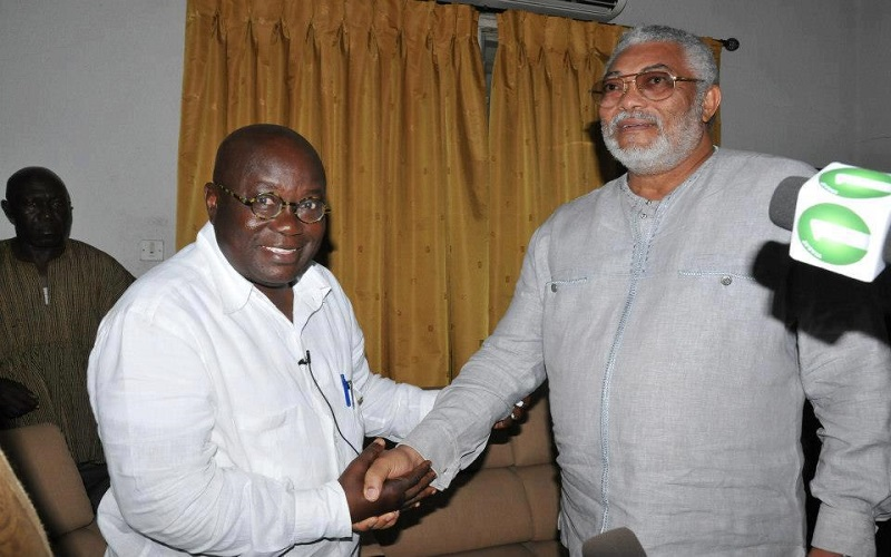 No NDC member has to fear my gov't – President-elect Akufo-Addo tells Rawlings in a LETTER