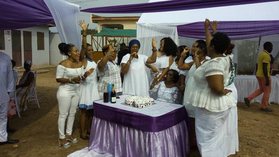 PHOTOS + VIDEO: Kofi Adjorlolo, Kalsoume Sinare, McBrown, Others @ Grace Nortey's 80th Birthday Party