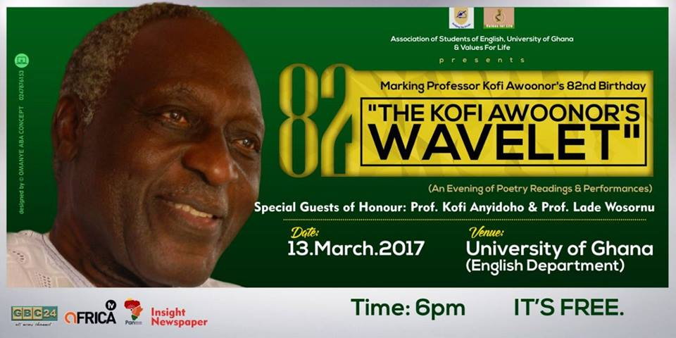 Prof. Awoonor's Birthday to be marked on March 13