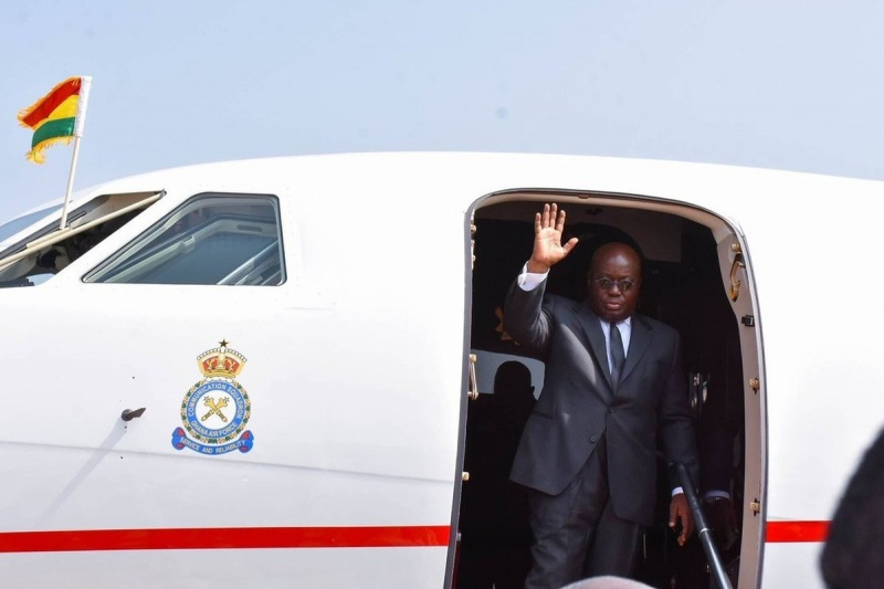 Akufo-Addo Leaves for Mali, UN General Assembly
