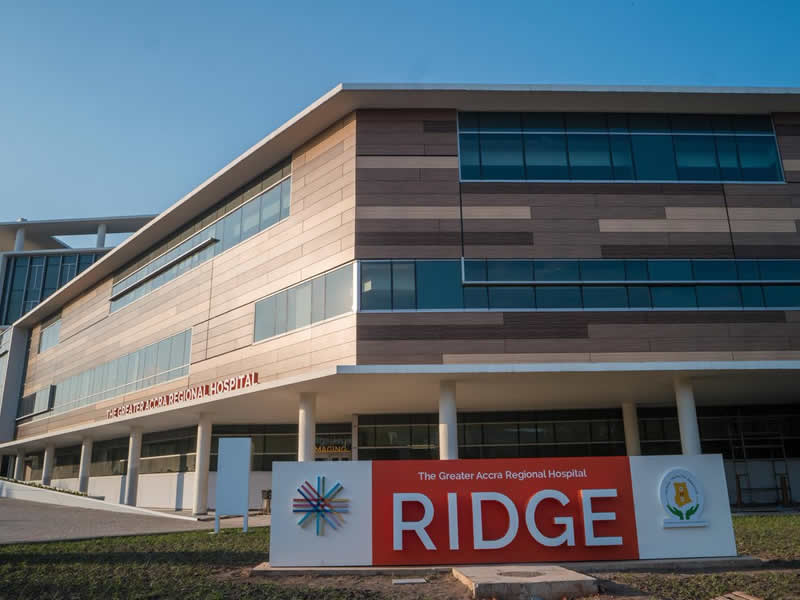 Ridge hospital to reopen on monday mgt kasapa102 5fm Regional house