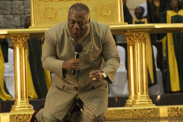 I didn't lobby to pray at Trump's inauguration – Duncan Williams