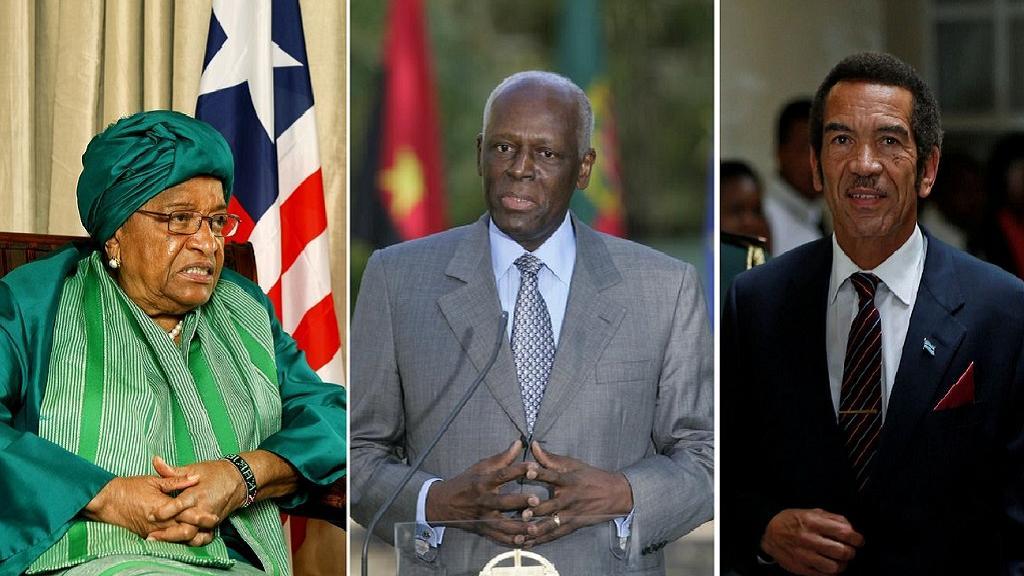 Sirleaf, Dos Santos, Khama: African leaders waving 'goodbye' to U.N. Gen. Assembly