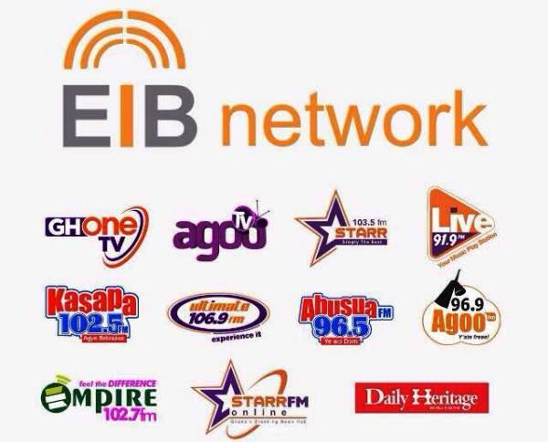 EIB emerges Ghana's most admired Media Brand