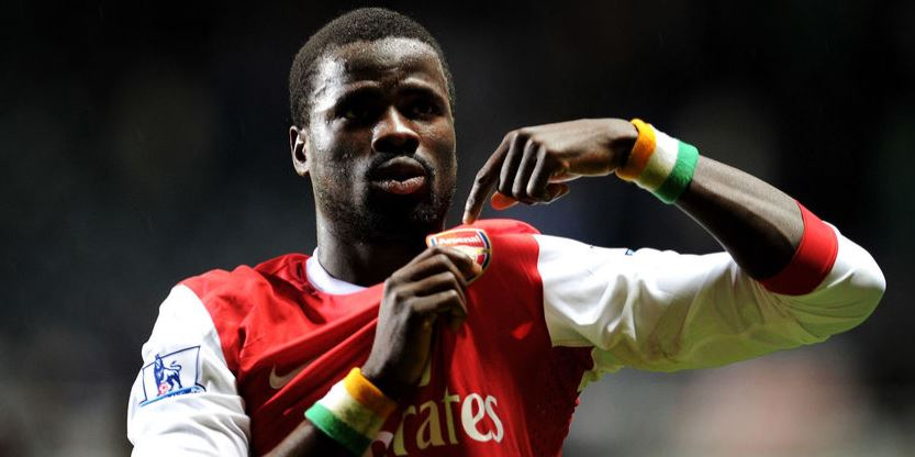 Former Arsenal back Eboue diagnosed with HIV