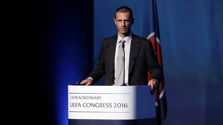 UEFA President joins Players in salary pledge Charity