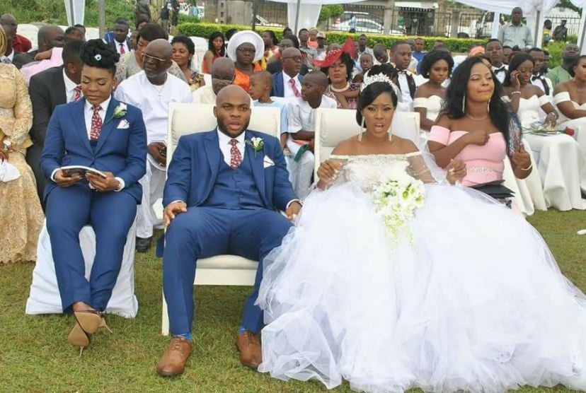 Lady Turns Best Man At Brother S Wedding See Photos