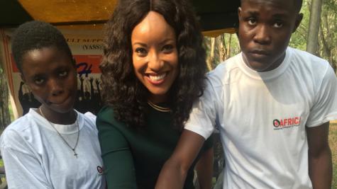 OAFRICA outdoors Joselyn Dumas as Brand Ambassador