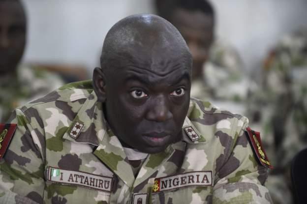 Nigeria sacks army general