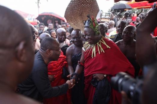 Nyantakyi leads GFA delegation to Manhyia