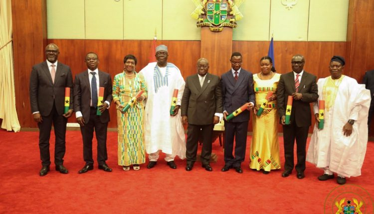 Prioritize Ghana at your posts – Akufo-Addo to new Envoys