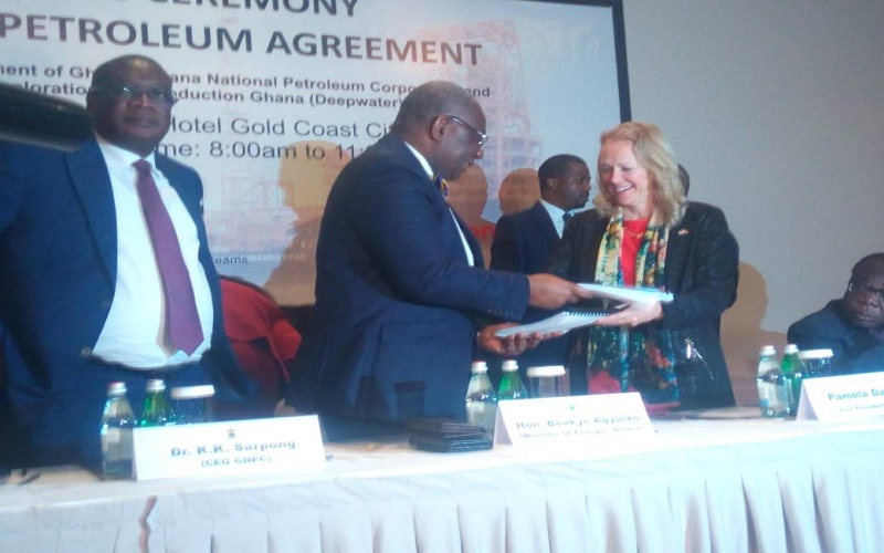 Ghana gets automatic 15% in Exxon Mobil agreement
