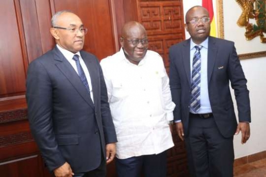 CAF expresses gratitude to President Akufo Addo