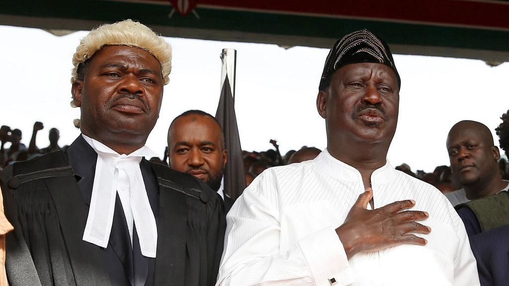 Kenyan gov't arrests MP who led Odinga's swearing-in