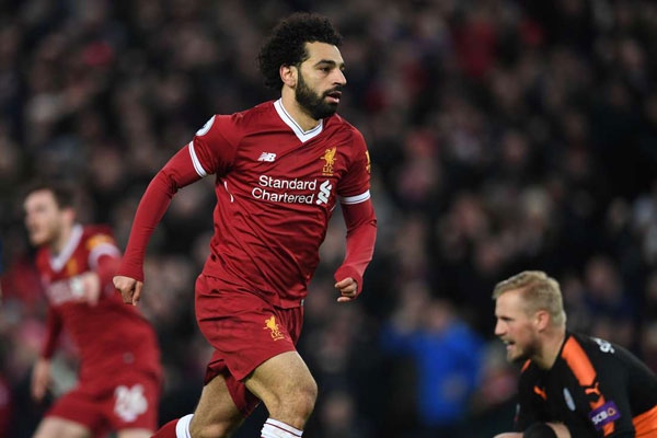 Mohamed Salah named Arab player of the year