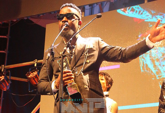 Sarkodie bags 'Best Collaboration' at 2017 Sound City MVP Awards Festival + FULL LIST OF WINNERS