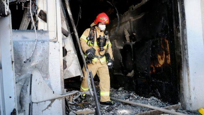 Dozens killed in South Korean hospital fire