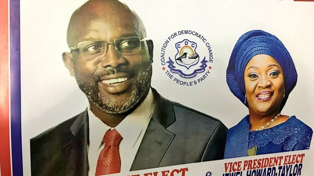 Liberia's historic presidential inauguration: Weah in, Sirleaf out