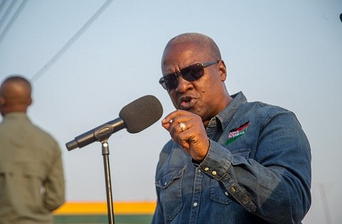 NPP creating jobs for only party sympathizers – Mahama