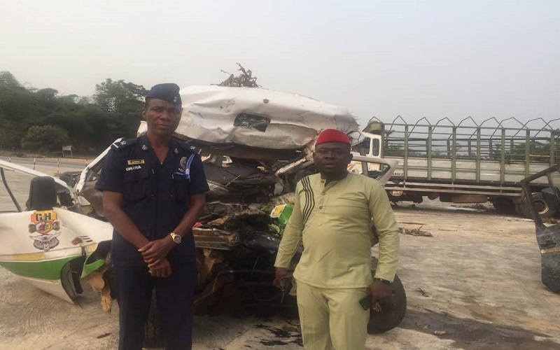 Anyinam accident death toll rises, Road Safety Ambassador grieves