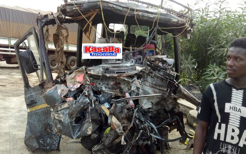 E/R: 14 family members die in gory accident at Anyinam