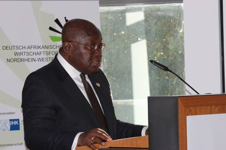 Treat African migrants humanely – Akufo Addo to German Officials