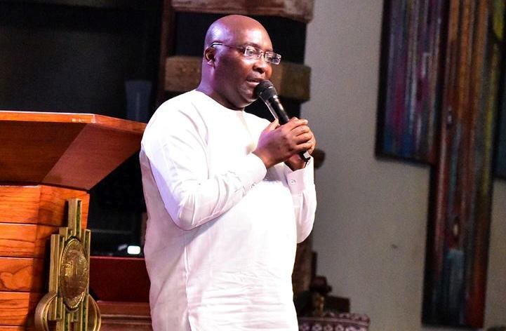 The hand of God healed me – Bawumia declares