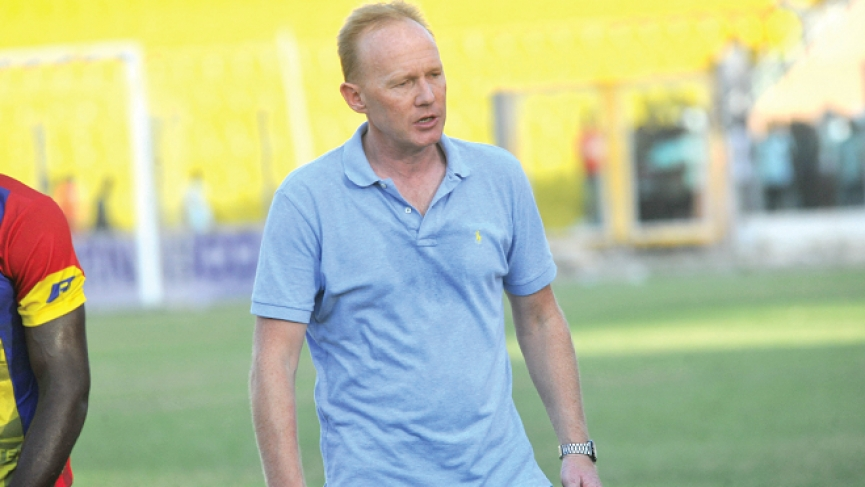 Coach Frank Nuttall suspended by Mgt. of Hearts of Oak