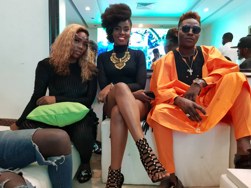 PHOTOS: Mzvee delivers class-act performance at NFF awards in Nigeria