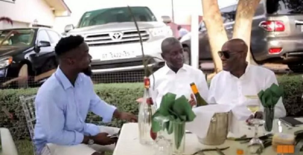 WATCH: Sarkodie hosts top personalities at 'Highest Feast' event