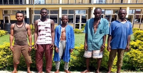A/R: Mampong filling station robbery: 5 Fulanis arrested