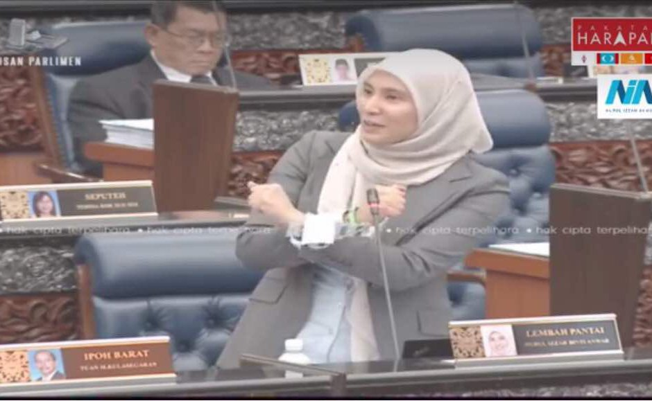 Malaysian lawmaker does Wakanda Forever gesture in parliament
