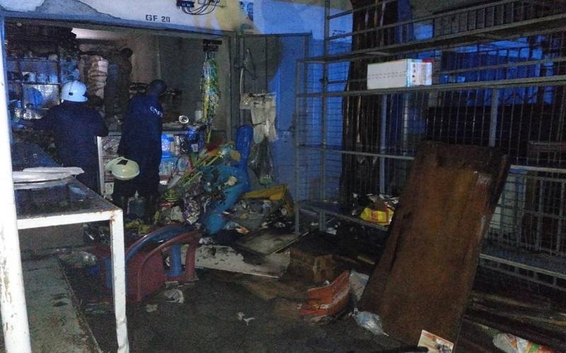 Fire Guts Shop At Bantama Market Kasapa102 5fm