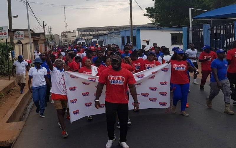 PHOTOS: Thousands take part in Kasapa FM Health walk