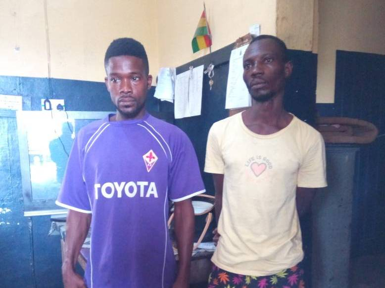 E/R: Two cocaine & wee dealers arrested @ Akuapem-Mampong