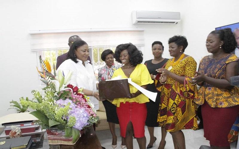 PHOTOS: EIB Women wish First Lady Happy birthday