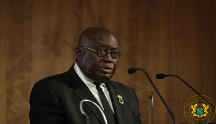 Akufo-Addo in London for 25th C'wealth Heads of gov't meeting