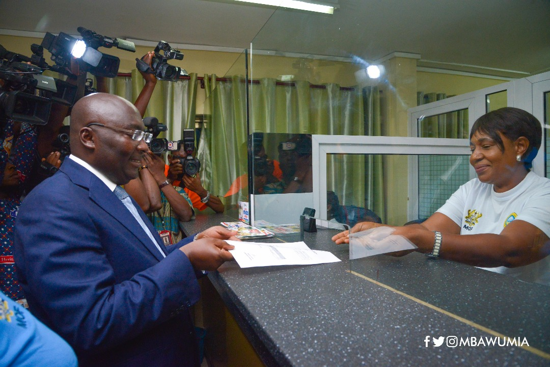 Let's pay our taxes to develop Ghana – Bawumia appeals