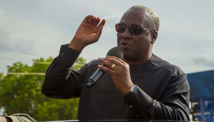 Akufo Addo not acknowledging NDC projects petty – Mahama