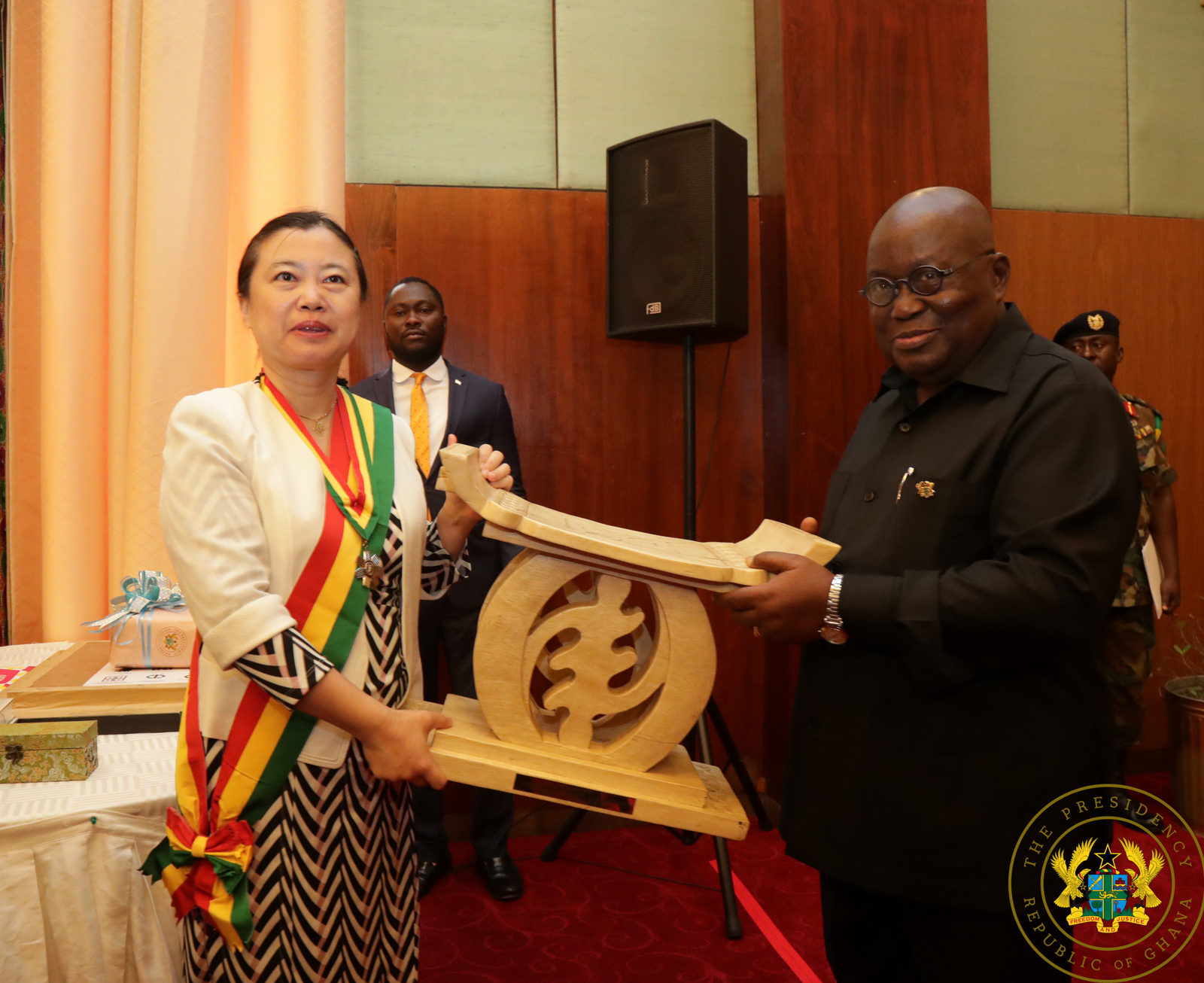 Be a strong advocate for Ghana in China – Akufo-Addo to outgoing Chinese Ambassador