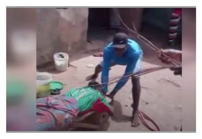 N/R: Girl beaten with horsewhip for coming home late in Tamale – Watch Video