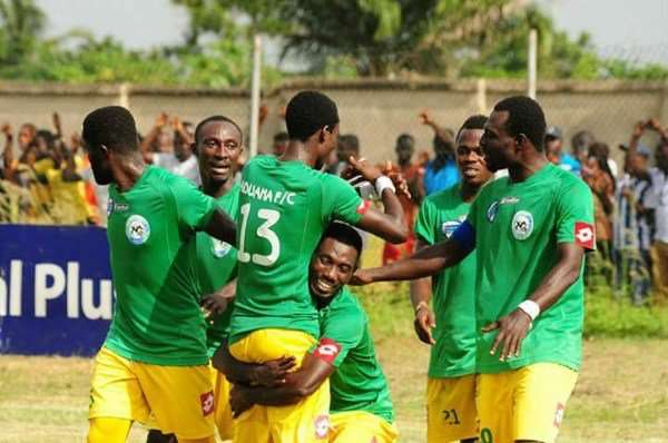 CAF Confed. Cup: Aduana Stars 3 : 3 Raja Casablanca