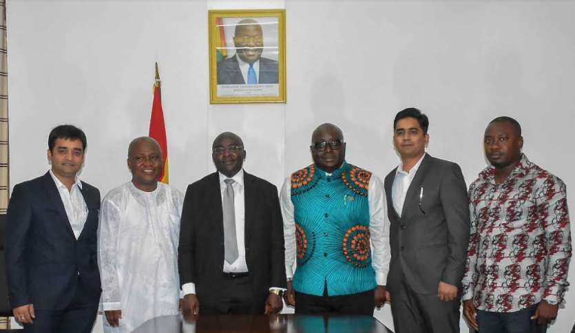 Ghana, India natural partners for 1D1F – Bawumia