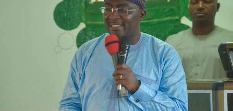 We're not in to create,loot & share – Bawumia