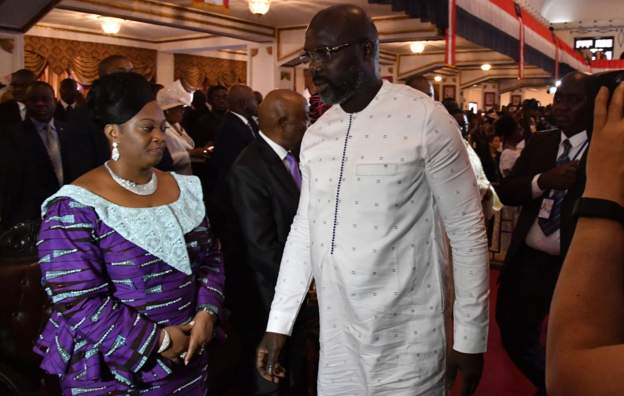 Liberia's Vice President begs Weah for forgiveness